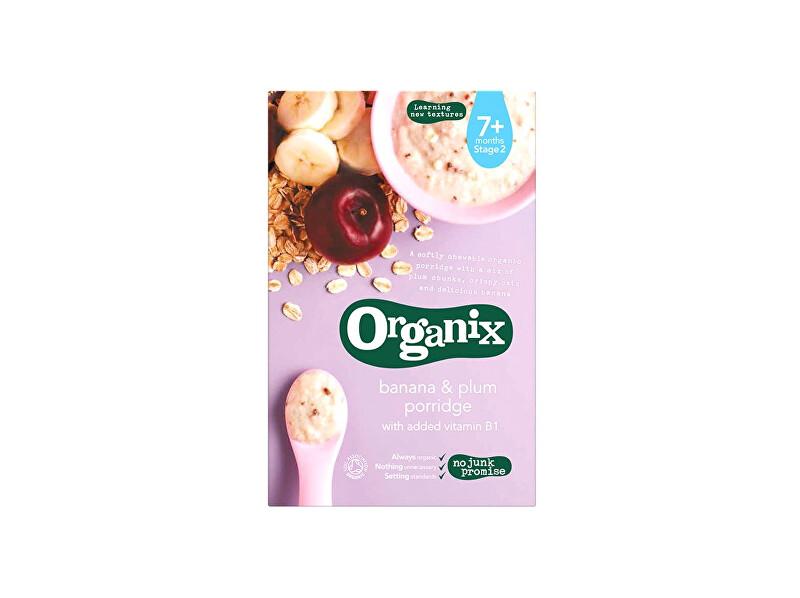 Zobrazit detail výrobku Organix Bio kaše s banány a švestkami 200g