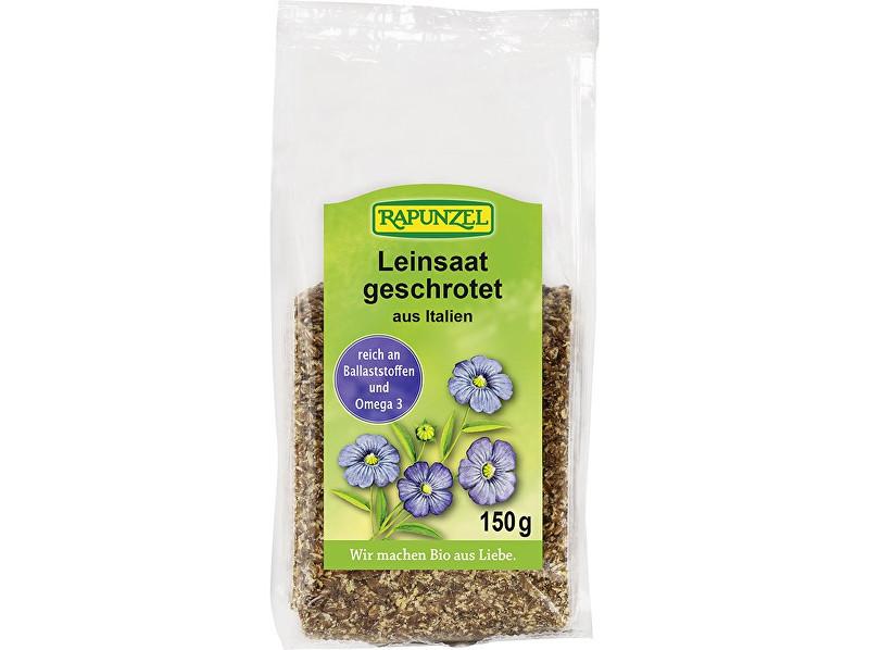 Rapunzel Bio lněné semínko drcené RAPUNZEL 150 g