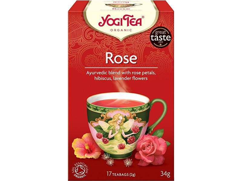 Zobrazit detail výrobku Yogi Tea Bio Růže Yogi Tea 17 x 2 g