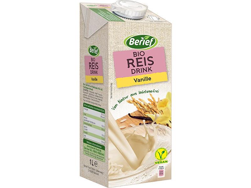 Zobrazit detail výrobku Berief Bio rýžový nápoj Vanilka BERIEF 1 l