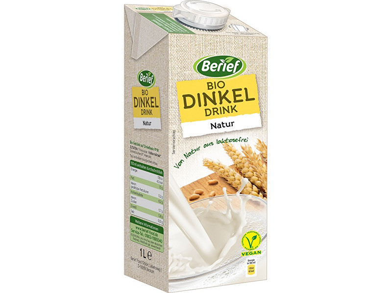 Berief Bio špaldový nápoj Natur BERIEF 1 l