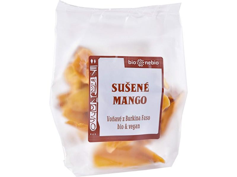 Bio nebio s. r. o. Bio sušené mango plátky 80 g