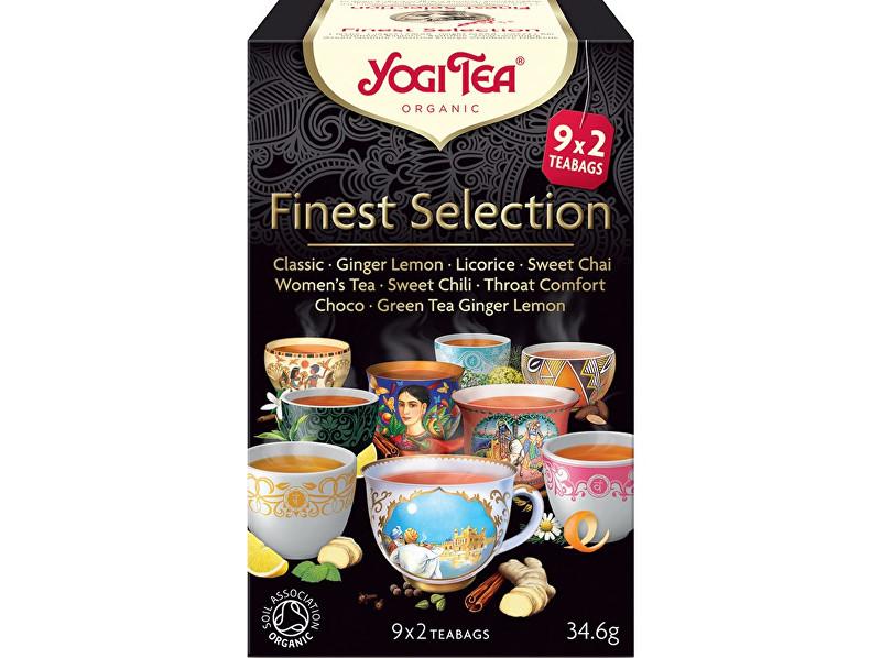 Zobrazit detail výrobku Yogi Tea Bio Výběr nejlepších Yogi Tea 34,6 g