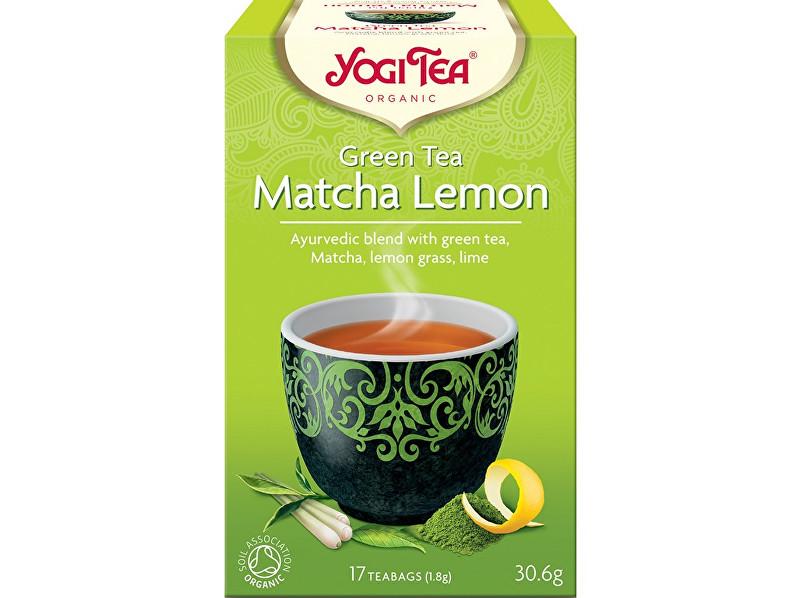 Zobrazit detail výrobku Yogi Tea Bio Zelený čaj Matcha Citrón Yogi Tea 17 x 1,8 g