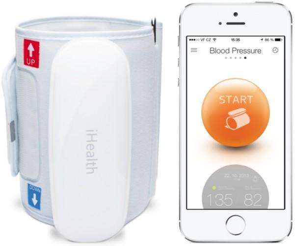 Zobrazit detail výrobku iHealth Bluetooth měřič krevního tlaku BP5