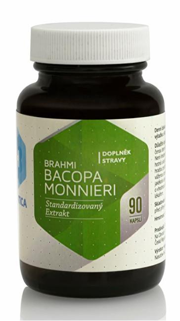 Brahmi Bacopa Monnieri 90 kapslí