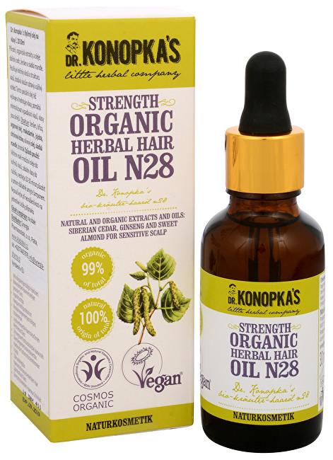 Zobrazit detail výrobku Dr. Konopka´s Bylinný olej na vlasy č. 28 pro posílení vlasů 30 ml
