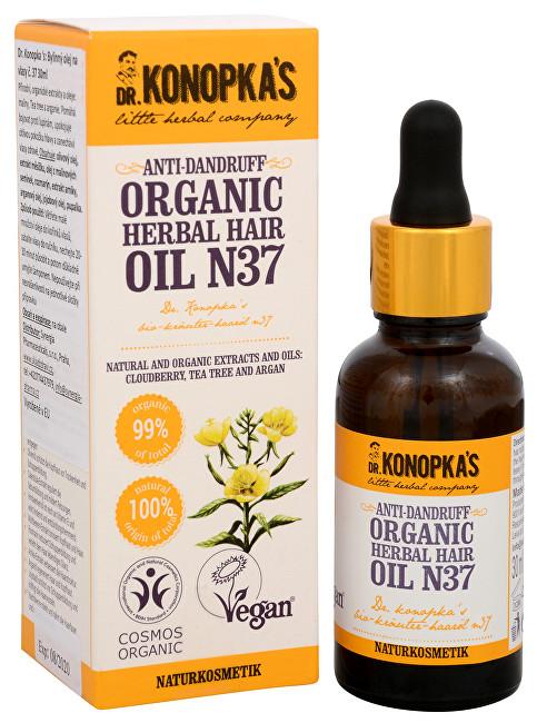 Zobrazit detail výrobku Dr. Konopka´s Bylinný olej na vlasy č. 37 proti lupům 30 ml