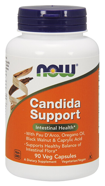 NOW Candida Support 90 kapsúl