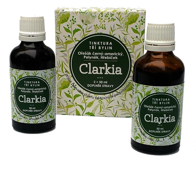 Clarkia - tinktura tří bylin 2 x 50 ml
