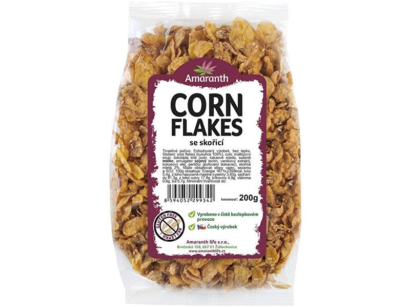 Zobrazit detail výrobku Amaranth life Corn flakes se skořicí 250g