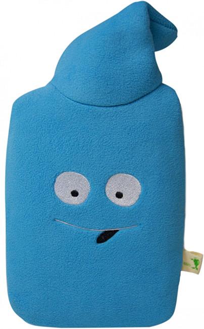Hugo Frosch Eco Junior Comfort dětský termofor s fleecovým obalem modrý