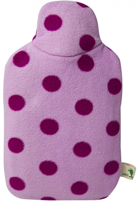 Zobrazit detail výrobku Hugo-Frosch Dětský termofor Eco Junior Comfort s fleecovým obalem - růžový