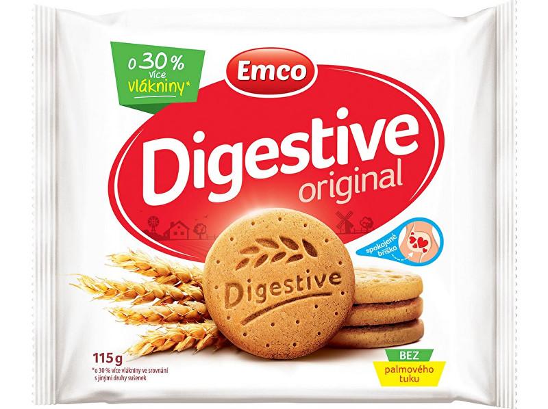 Zobrazit detail výrobku EMCO Digestive Original 115g - křehké sušenky