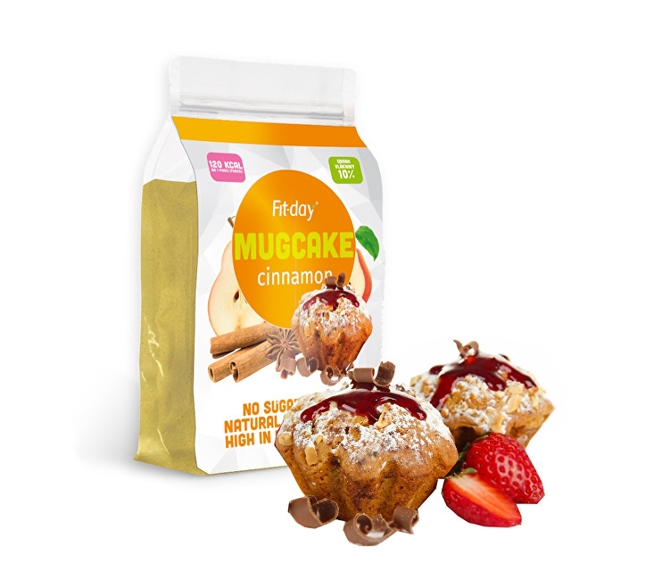 FIT-DAY Protein Mugcake CINNAMON 600 g