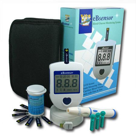 Zobrazit detail výrobku Visgeneer Glukometr eBsensor set + 50 proužků