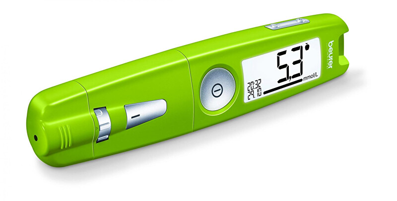 Zobrazit detail výrobku Beurer Glukometr GL 50 zelený