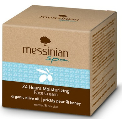 Zobrazit detail výrobku Messinian Spa Hydratační krém na obličej s 24 hodinovým účinkem opuncie & med 50 ml