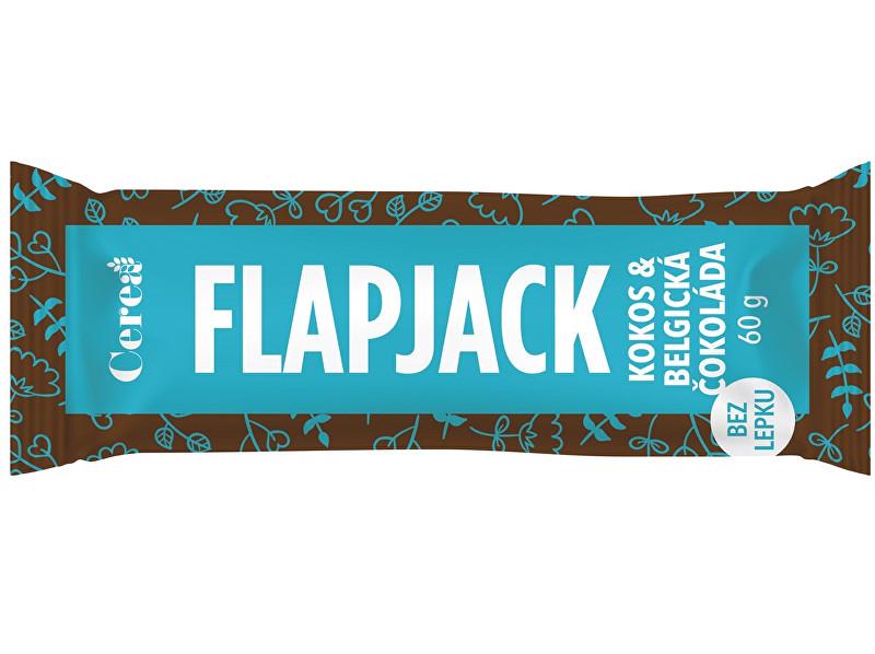 Cerea Jáhlová tyčinka Flapjack Kokos & Belgická čokoláda 60g