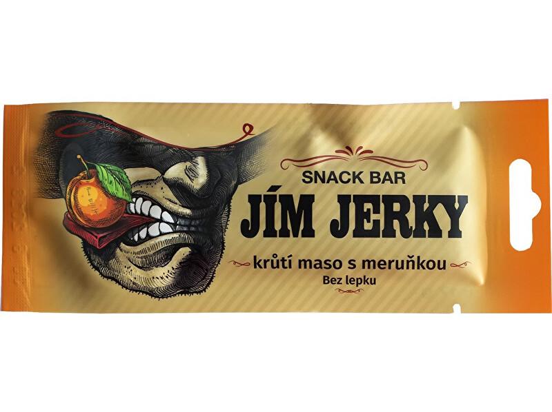 Jim Jerky Jerky Bar krůtí 17g B25