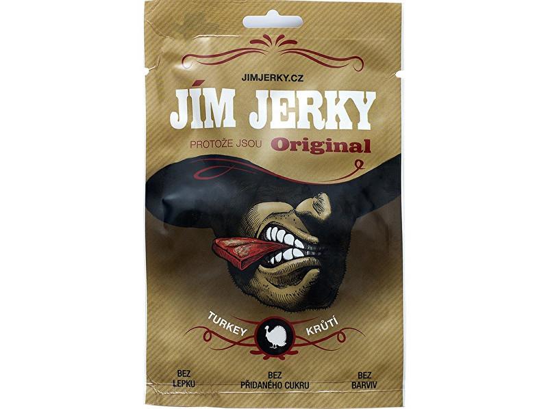 Zobrazit detail výrobku Jim Jerky Jerky krůtí 23 g B30