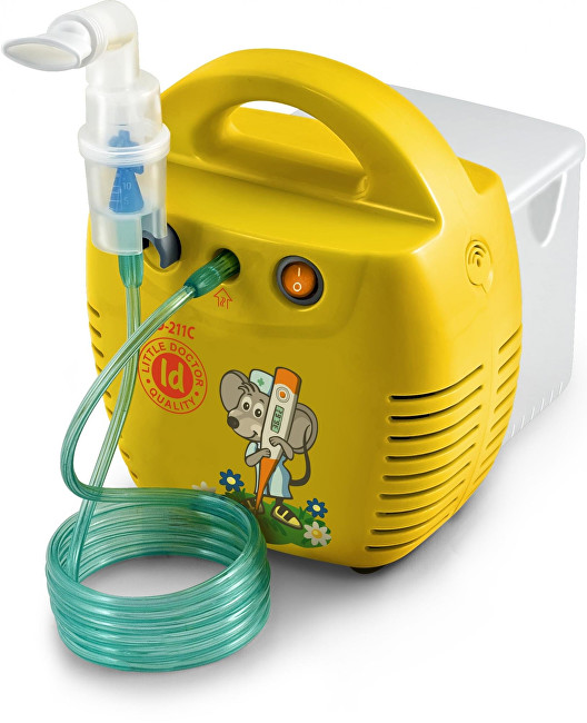 Zobrazit detail výrobku Little Doctor Kompresorový inhalátor LD-211C - žlutý