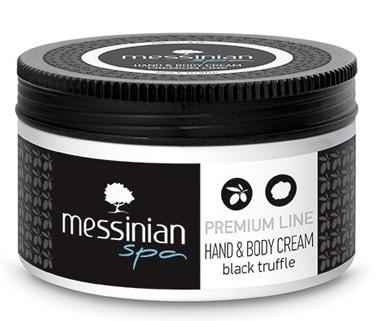 Messinian Spa Krém na ruce a tělo černý lanýž 250 ml