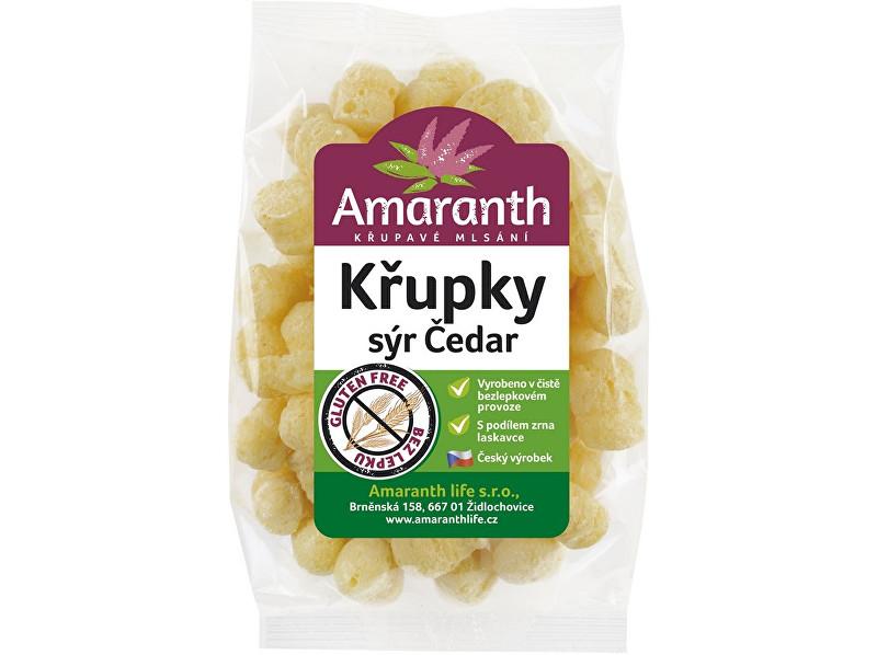 Zobrazit detail výrobku Amaranth life Křupky sýr čedar 70g