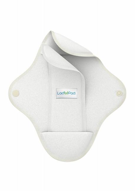 LadyPad Látková vložka s vkládací vložkou (M) bílá