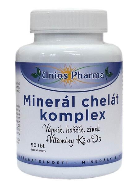 Zobrazit detail výrobku Unios Pharma Minerál chelát komplex 90 tablet