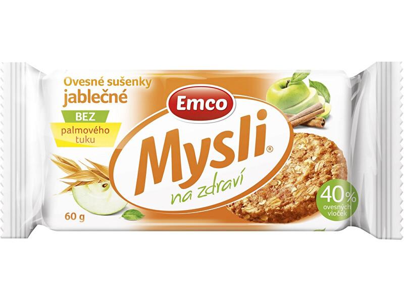 Zobrazit detail výrobku EMCO Mysli Ovesné sušenky jablečné 60g