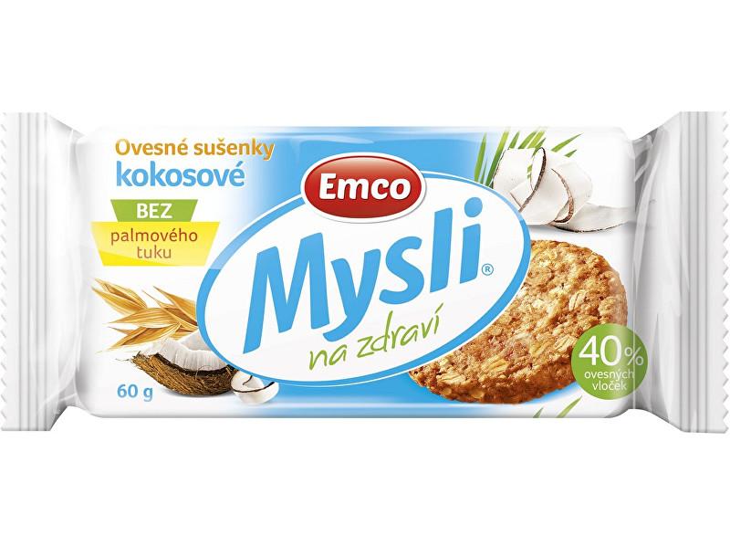 Zobrazit detail výrobku EMCO Mysli Ovesné sušenky kokosové 60g