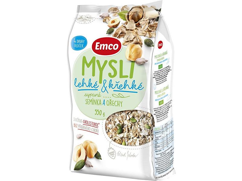 Zobrazit detail výrobku EMCO Mysli - sypané lehké a křehké semínka a ořechy 550g