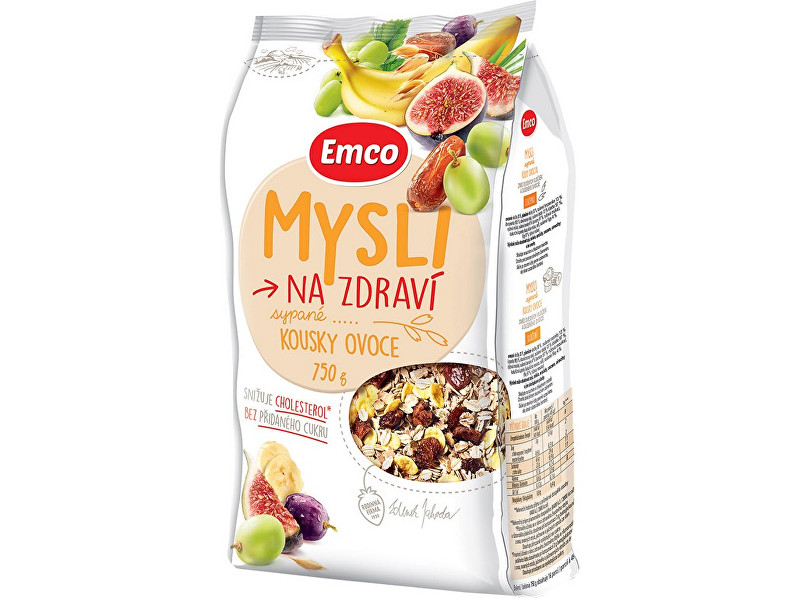 Zobrazit detail výrobku EMCO Mysli - Sypané s kousky ovoce 750g