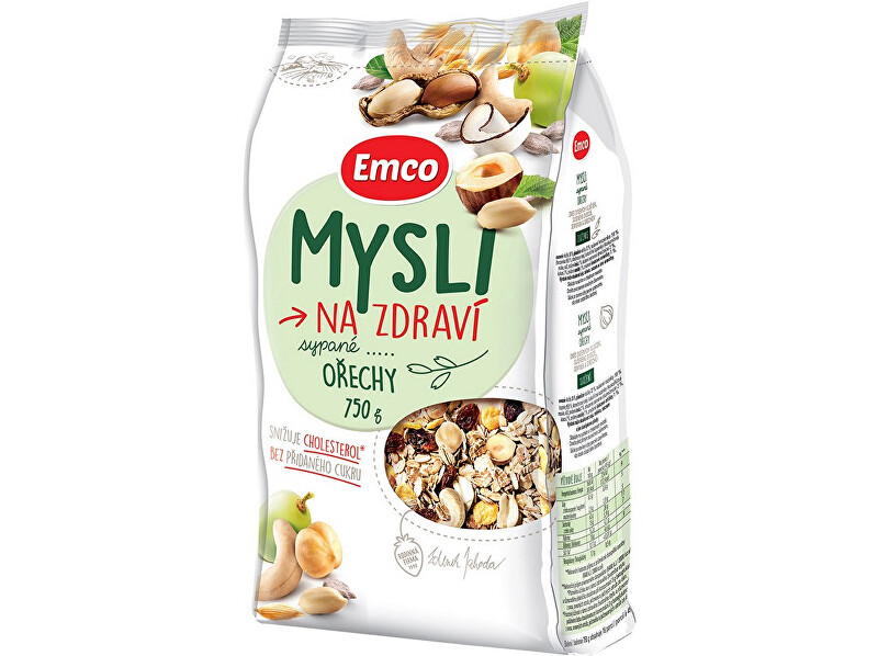 Zobrazit detail výrobku EMCO Mysli - Sypané s oříšky 750g