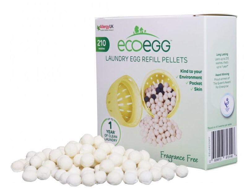 Ecoegg Náplň do pracího vajíčka 210 cyklů praní bez vůně