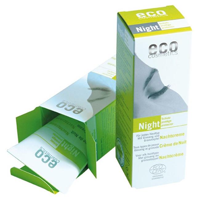 Zobrazit detail výrobku Eco Cosmetics Noční krém BIO s granátovým jablkem a ženšenem 50ml