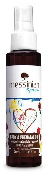 Zobrazit detail výrobku Messinian Spa Olej pro miminka a nastávající maminky 100 ml