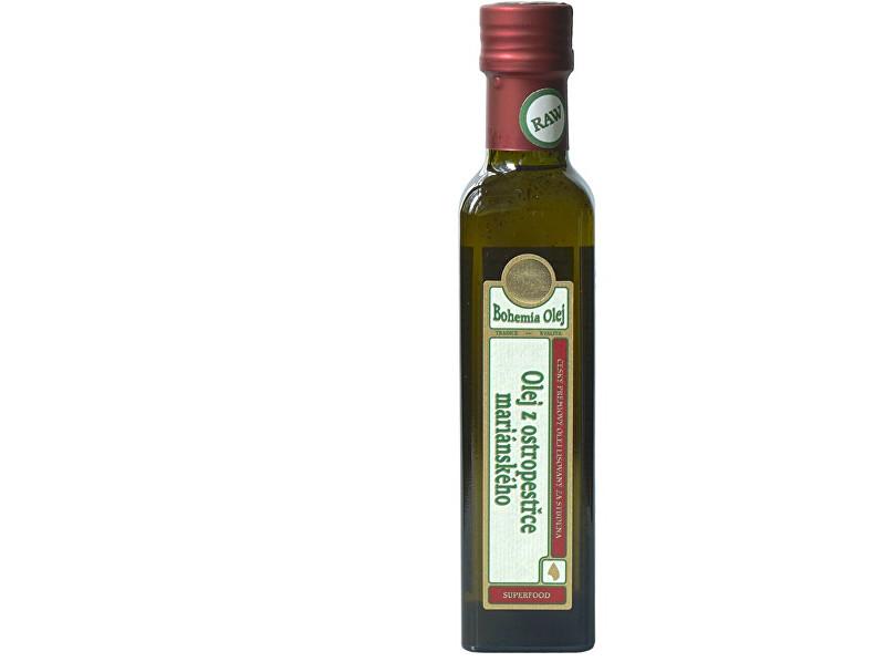 Olej z ostropestřce mariánského 250ml - nefiltrovaný