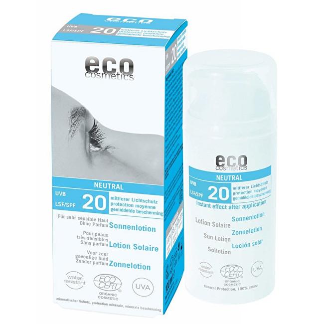 Zobrazit detail výrobku Eco Cosmetics Opalovací krém Neutral bez parfemace SPF 20BIO 100 ml