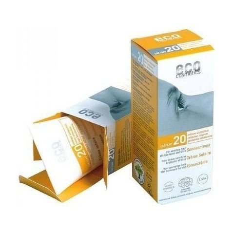 Zobrazit detail výrobku Eco Cosmetics Opalovací krém SPF 20BIO 75ml