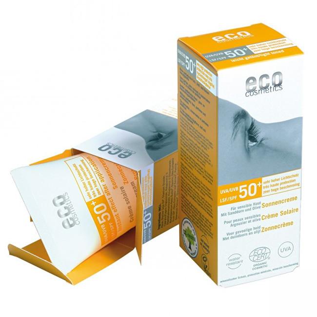 Zobrazit detail výrobku Eco Cosmetics Opalovací krém SPF 50+ BIO s lehce tónovacím účinkem 75ml