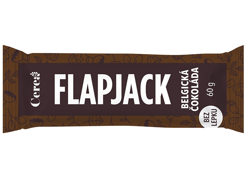Zobrazit detail výrobku Cerea Ovesná tyčinka Flapjack Belgická čokoláda 60g