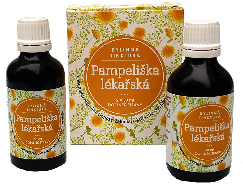Pampeliška lékařská bylinná tinktura 2 x 50 ml