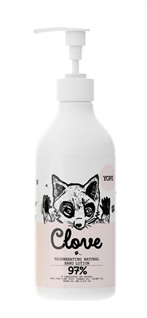 Yope Přírodní mléko na ruce Hřebíček 500ml
