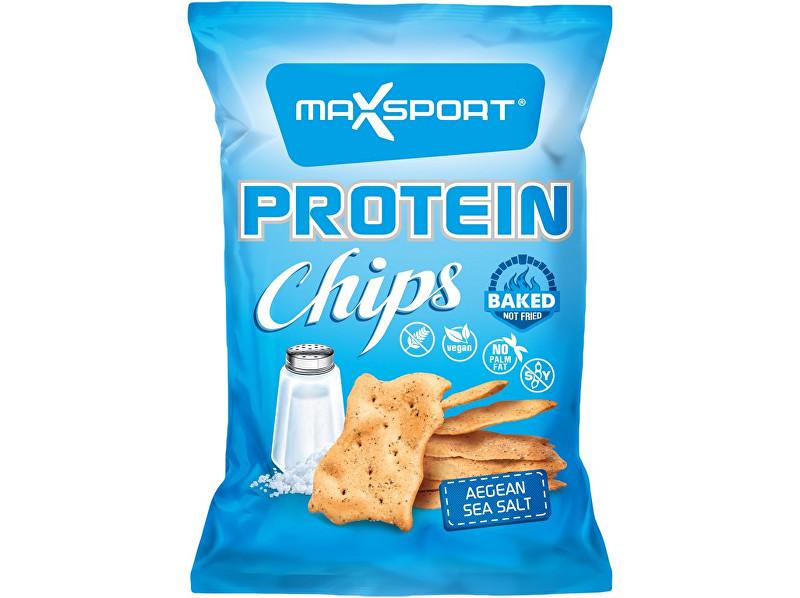 Max sport Protein Chips – mořská sůl 45g
