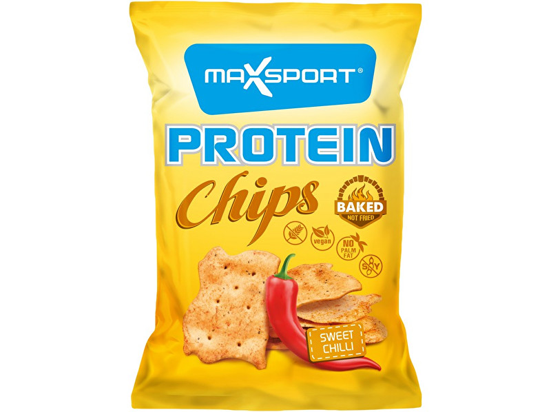 Zobrazit detail výrobku Max sport Protein Chips – sladké chilli 45g