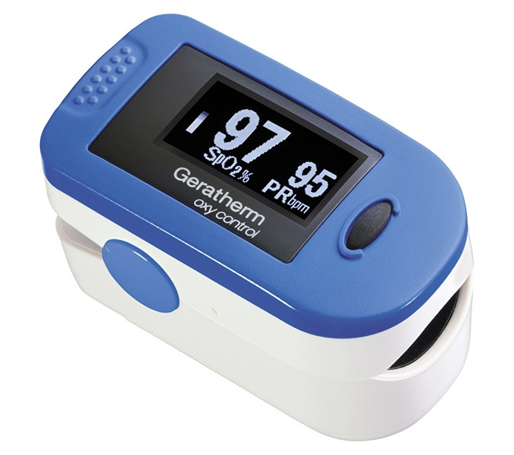 Geratherm Pulzný oximeter Oxy control