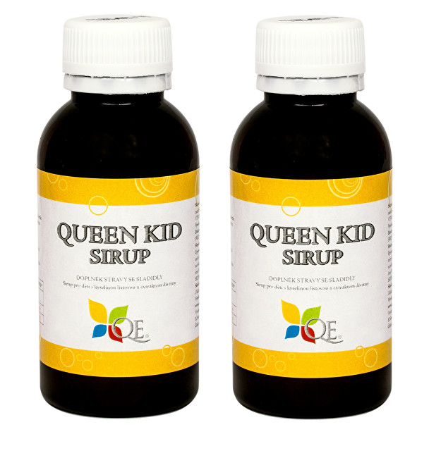 Queen Euniké Queen Kid Sirup 100 ml 1+1 ZDARMA