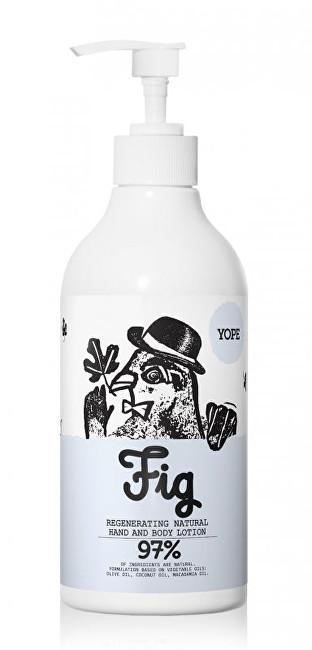 Yope Regenerační tělové mléko Fík 500 ml 500 ml